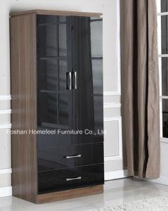 3 Piece High Gloss Bedroom Combi Wardrobe Dresser Set pictures & photos