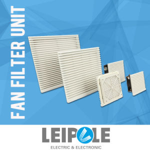 Hot Selling Panel Fan Filter Fkl6626-D Grey Color ABS Plastic Cooling Fan Filter for Enclosure pictures & photos