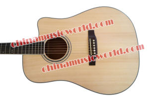 Afanti Music 41′ Solid Spruce Top Acoustic Guitar (AMT-081) pictures & photos
