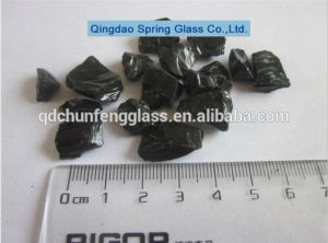 Little Size Black Glass Rocks pictures & photos