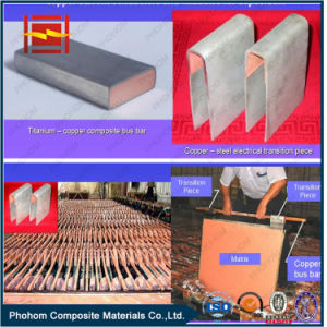 Copper Cathode Plate with Explosive Welding Technology pictures & photos