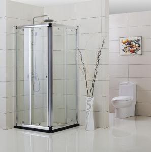 Framed Rectangular Sliding Shower Enclosure (YTZ-006)