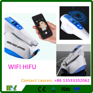Android Supported Mini Wireless WiFi Hifu Anti-Aging Face-Lifting Machine Mslhf13L