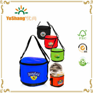 Promotional Functional Insulated Round Barrel Beverage Cylinder Cooler Bag pictures & photos
