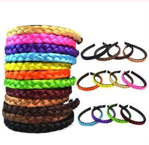 Manufactory for Hairband Plaited Braided Hair Accessories pictures & photos