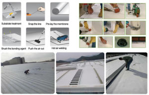 Thermoplastic Polyolefine/Tpo Waterproof Membrane for Singlelayer Roof System pictures & photos