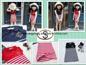 Fashion 2013 Small Lapel Navy Style Vest One-Piece Dress Mother Dress Parent-Child Dress