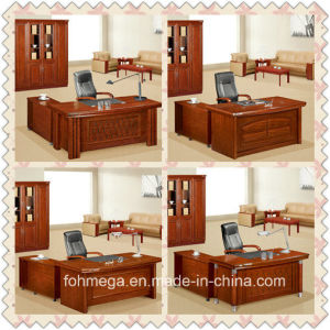 Guangzhou China Manufacturer Wooden Office Table Office Table (FOH-K3666) pictures & photos