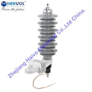 (YH5W-21) Polymeric Housed Metal-Oxide Lightning Arrester Without Gaps pictures & photos