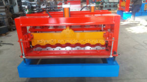 Steel Step Tile Making Machinery/Glazed Tile Cold Rolled Formed Machine pictures & photos