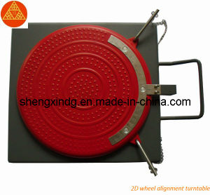 Stamping Vehicle Auto Car Wheel Alignment Wheel Aligner Turntable Turnplate (SX021) pictures & photos
