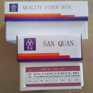 Aluminum Oxide Fiber Disc/Sanding Disc/Resin Fiber Disc/Coated Disc pictures & photos