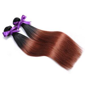 Wholesale Brazilian Hair Straight Bundles Weave Two Tone Human Hair Extensions Bundles Ombre 1b/33 pictures & photos