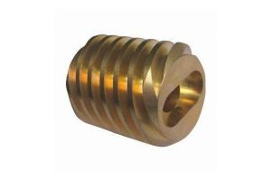 CNC Machining Brass Spindle with Thread pictures & photos