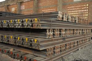 Steel Heavy Rail 38kg/M U71Mn GB