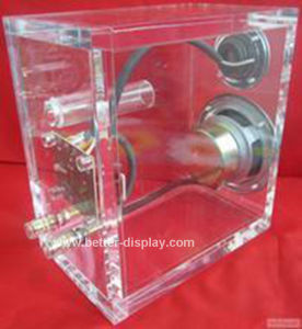 Acrylic Clear Audio Display Frame Btr-C8024 pictures & photos