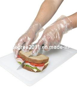 Disposable PE Gloves (HDGL-CL14) pictures & photos
