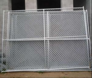 American Standard 6FT*12FT Galvanized Chain Link Construction Temporary Fence pictures & photos