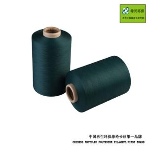 Recycled Environmental Polyester Filament DTY. pictures & photos