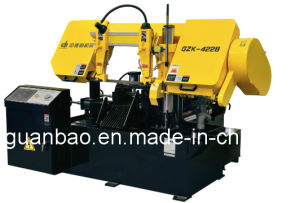 Small Size CNC Band Saw Machine Gzk4228 pictures & photos