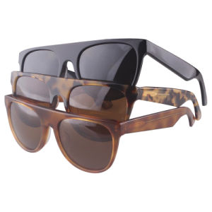 2017 New Brand Hand Made Acetate Design Sunglasses with Mirror Polarized Lens pictures & photos