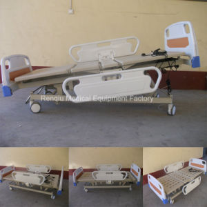 (CE, ISO) Five-Function Electric Medical Patient Bed, Hospital Bed pictures & photos