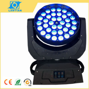 6 in 1 LED Zoom Wash Moving Head Stage Lighting, Moving Head Wash PAR Lighting pictures & photos