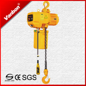 3t Fixed Type Electric Chain Hoist (WBH-03001DF) pictures & photos