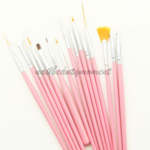Beauty Nail Art Manicure Drawing Painting Gel Brush Set (B005) pictures & photos