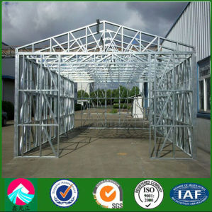 Easy Assembled Transportable Prefab Steel Garage pictures & photos