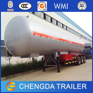 Brand New 3 Axle 57000 Liters LPG Bullet Tank Trailer for Sale pictures & photos