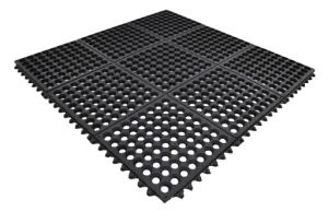 Perfect Anti-Slip Interlocking Rubber Matting pictures & photos