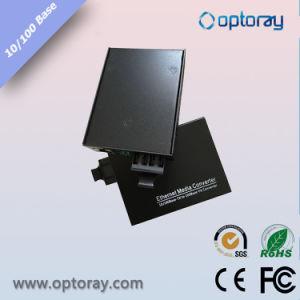 10/100m Exteral Power Fiber Media Converter pictures & photos