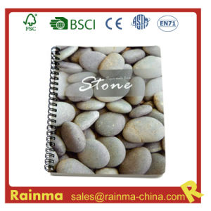 Spiral Notebook with Stone Paper pictures & photos