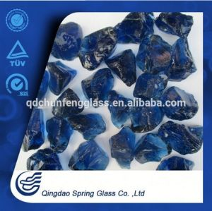Decorative Dark Blue Glass Rocks pictures & photos