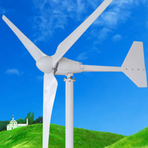Small Wind Power Generator 1kw with 3 Blades pictures & photos