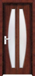 Wood Glass Door Design (WX-PW-314) pictures & photos