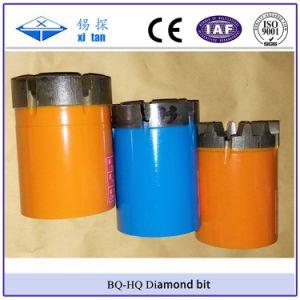 Xitan Bq Nq Hq Pq Wireline Core Diamond Bit Rotary Drill Bit pictures & photos