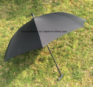High Quality Umbrella with Crutch Handle pictures & photos