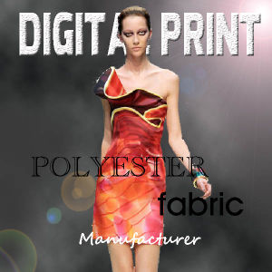 Digital Print on Polyester pictures & photos