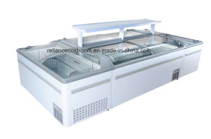 Commercial Island Freezer with Sliding Door pictures & photos