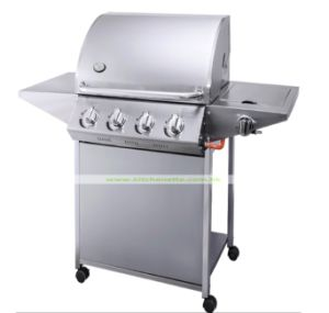 Stainless Steel Freestanding Gas BBQ for Outdoor Kitchen (WH-D677)