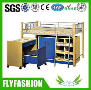 Popular Steel Bunk Bed with Cabinet for Wholesale (BD-12) pictures & photos