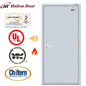 Ultested Steel Fire Door/Fireproofing Steel Door/Fireproof Door/Top Quality Simple Design