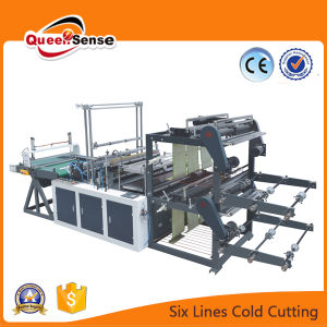 Six Lines Cold Cutting Shopping Bag Automatic Machine pictures & photos