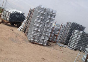 Hot DIP Galvanized Ground Screw Pile, Ground Spike pictures & photos