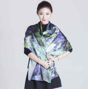 2017 Shanghai Silk Scarf  for Women pictures & photos