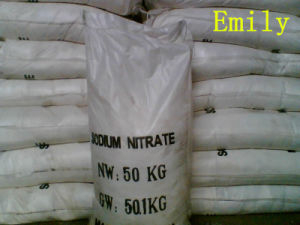 High Quality Sodium Nitrate 98.5%-99.3% Food Industrial Africultural Grade pictures & photos