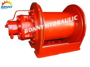 Planetary Hoisting Hydraulic Winch with Single Line Pull of 1-18ton pictures & photos