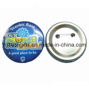 25mm Cheap Tin Button Badges for Promotional Badges pictures & photos